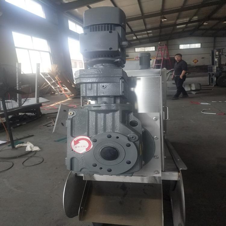 叠螺压滤机 叠螺式压泥机 半自动叠螺式污泥脱水机