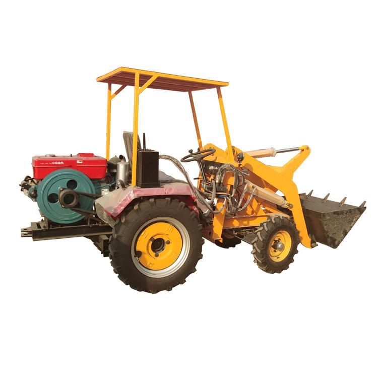 协丰机械 福建多功能微型四驱电动装载机 养殖场电动小铲车 建筑工地环保柴油动力铲车价格
