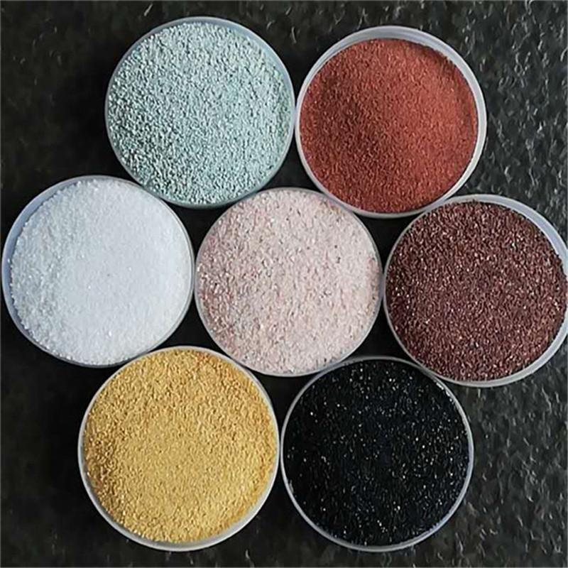 厂家批发彩砂-天然彩砂-真石漆彩砂-地坪彩砂