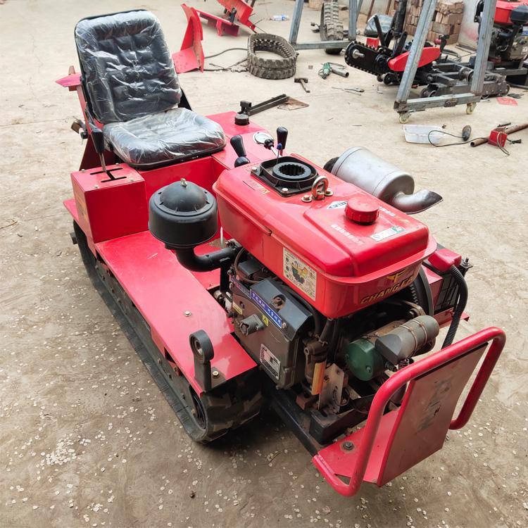 协丰机械 柴油动力履带式微耕机 农用大棚多功能微耕机 小型四驱田园开沟除草机价格