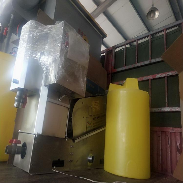 低成本污泥脱水设备 叠螺式污泥脱水机 叠螺压滤机 罗勒环保