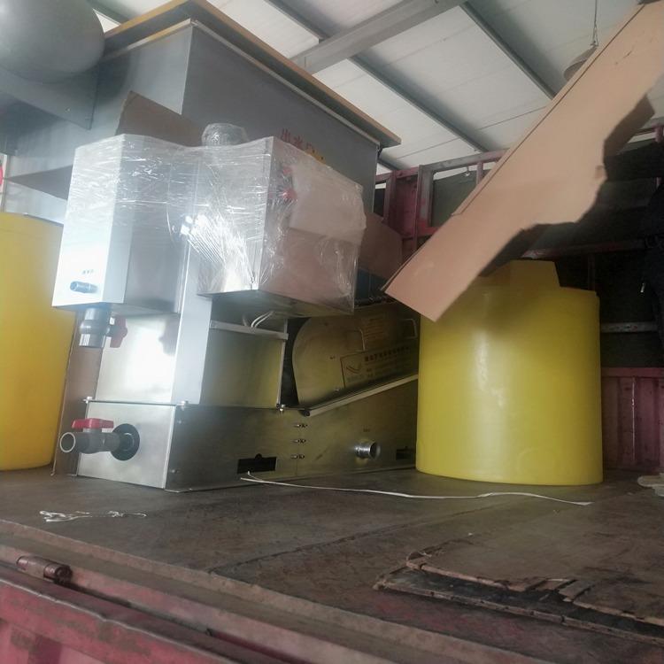 叠螺压滤机 可移动式污泥脱水 叠螺式污泥脱水机