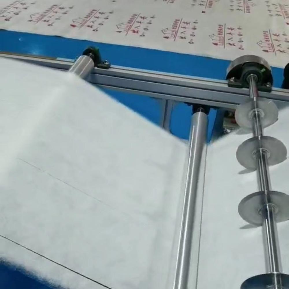 骏晖 熔喷布生产设备后段静电驻极自动分切收卷生产线 静电驻极网带设备