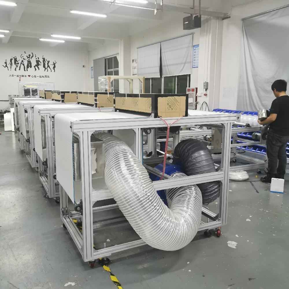 熔喷布静电驻极流水线全自动熔喷布分切收卷机熔喷布设备生产线