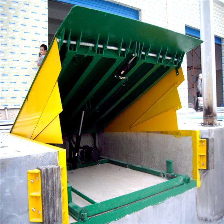 叉车卸货平台 卸货升降平台 图片