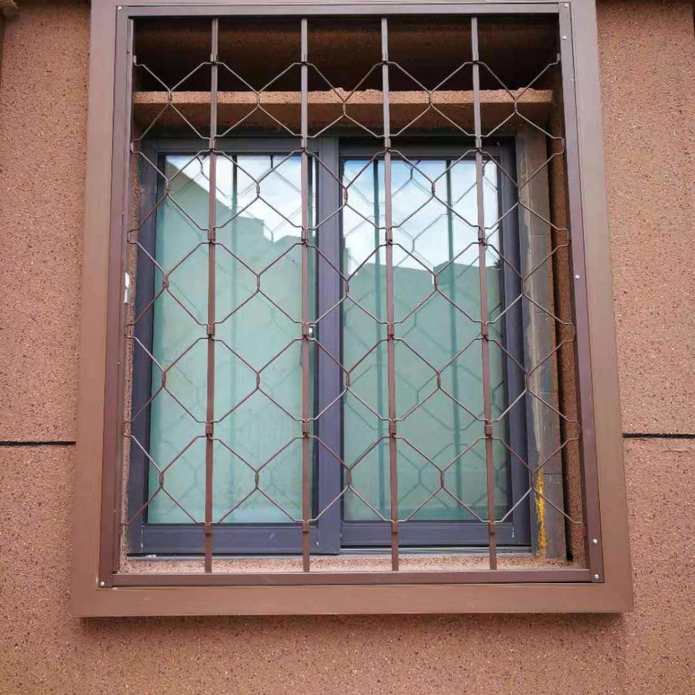 锰钢防盗窗定制品牌 坚固耐用