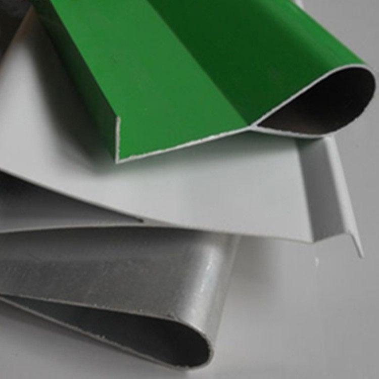 4S店水滴形挂片吊顶 水滴型铝格栅 滴水形铝方通