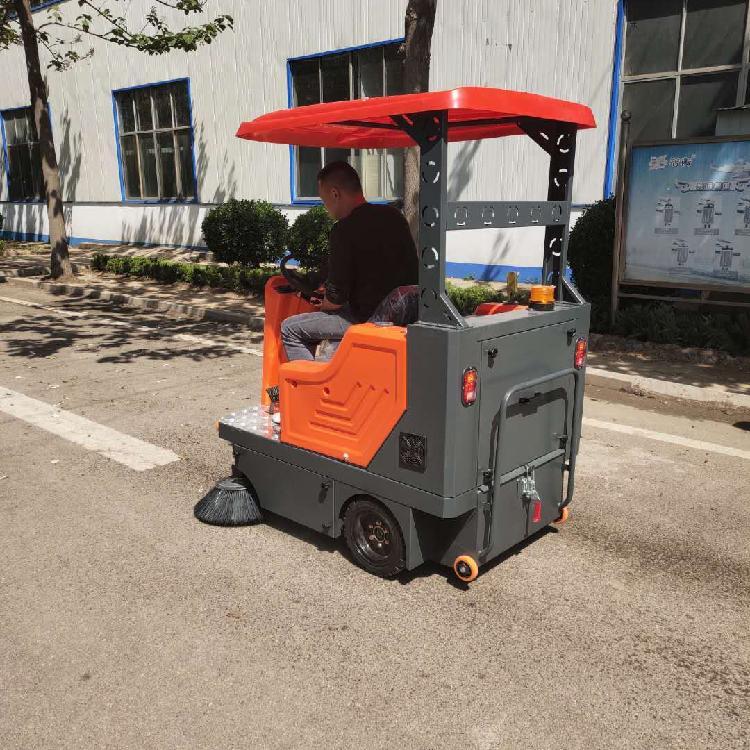 扫地机报价 宏骏洁G80社区驾驶式扫地机