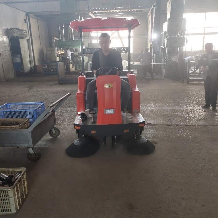 电动扫地机厂家 宏骏洁G80小区扫地机