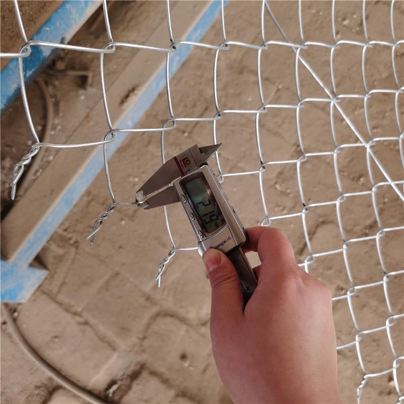 菱形防護網2.0絲6x6公分菱形孔冷鍍鋅勾花網生產廠家