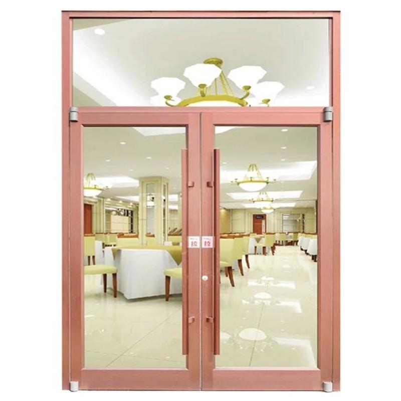 江门肯德基门 肯德基门厂家 江门铝合金双开门 对开门 来图定做 厂家直销