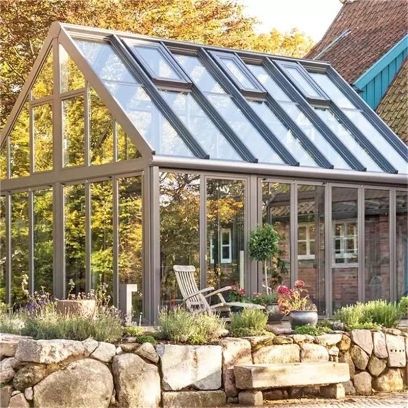 福州阳光房定做 铝合金玻璃花房 别墅花房玻璃房 厂家直销 免费设计 金意享别墅门窗