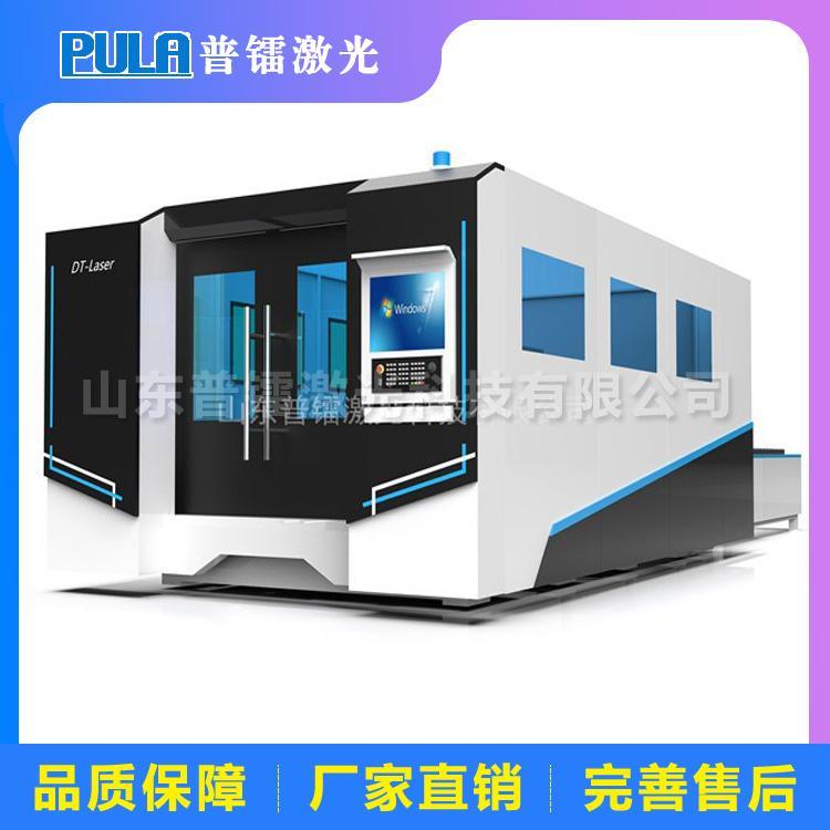 普镭激光切割机 激光切割机功率与板厚 金属板材切割机