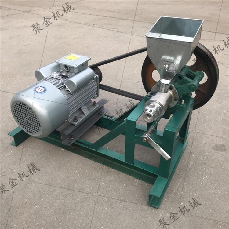 久鼎汽油机带自熟式玉米膨化机电瓶带动膨化机