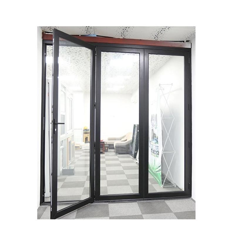 济南重型断桥大折叠门 中空双层玻璃大折叠门 别墅洋房入户折门 金意享门窗