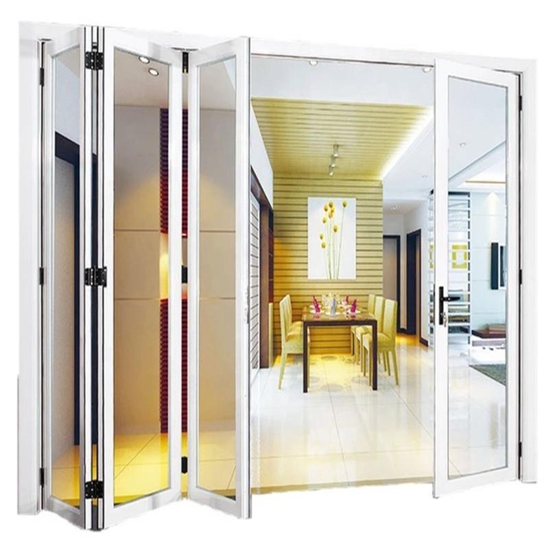 台州重型折叠门厂家定制 台州大折叠门开启空间大安装方便金意享门窗