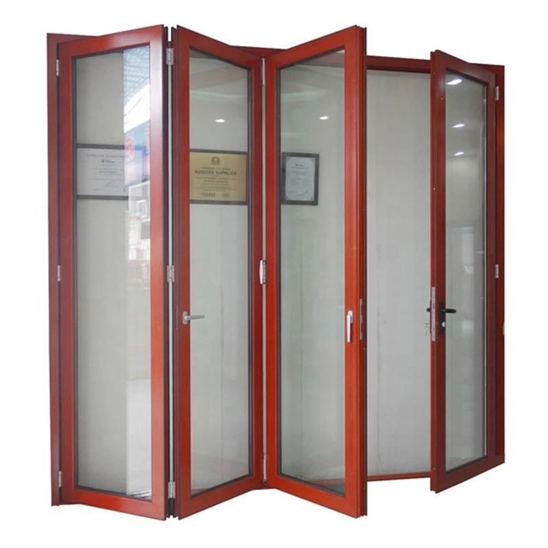 东营重型大折叠门厂家 东营重型折叠门价格 来图定做 大空间开启 金意享门窗