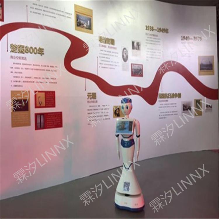 霖汐 讲解机器人 智慧展厅 无人化