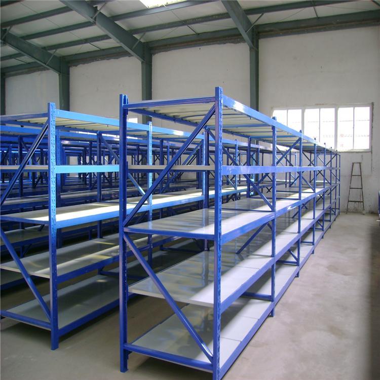 库房中型货架定做 组装仓储免焊接智能库房中型货架
