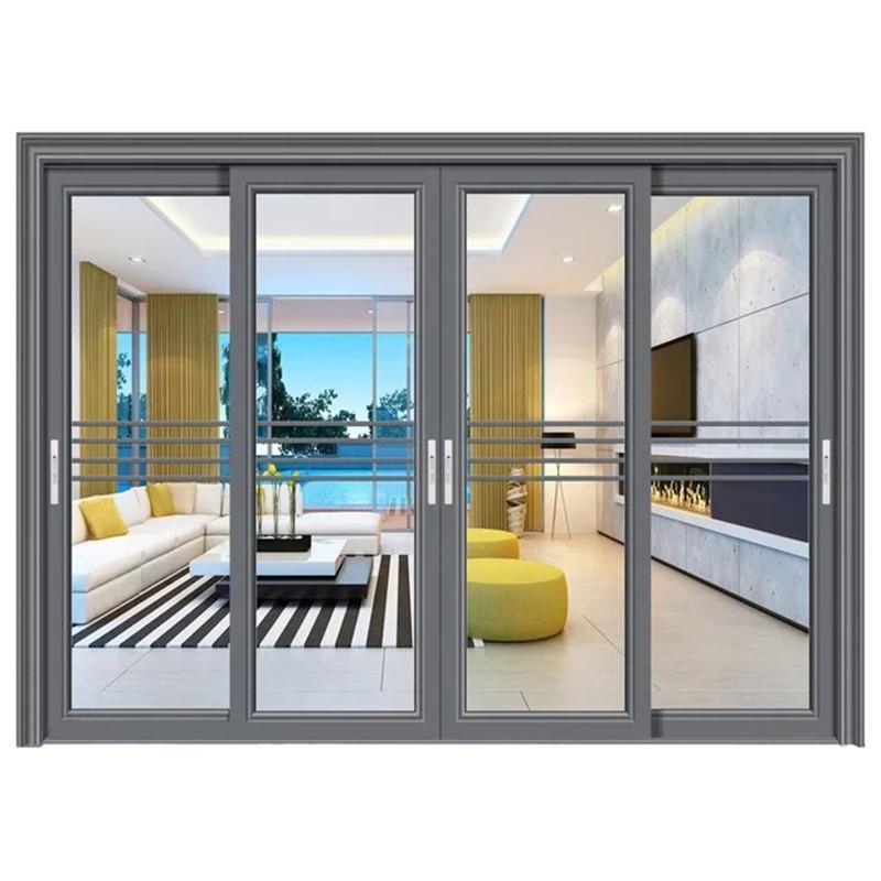 太原断桥重型推拉门 太原铝合金阳台平移门窗厨房平移门 金意享门窗