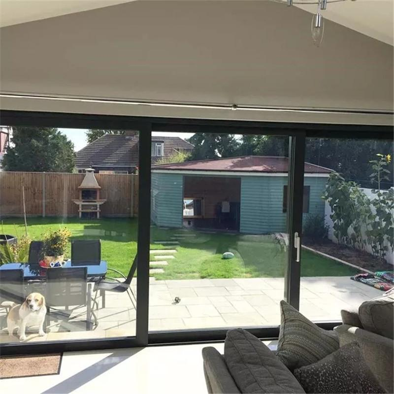 别墅洋房卧室阳台门 来图设计定制 静音隔热 铝合金推拉门 金意享门窗