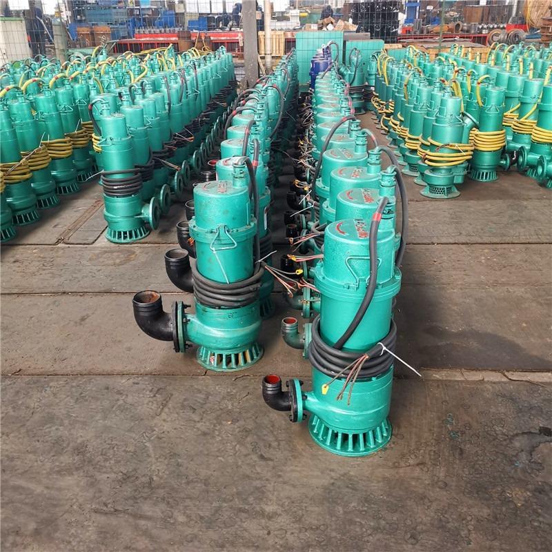 矿井用防爆潜水泵 bqs10-23-1.5 隔爆型排污排沙电泵 抽泥沙泵660v1140v