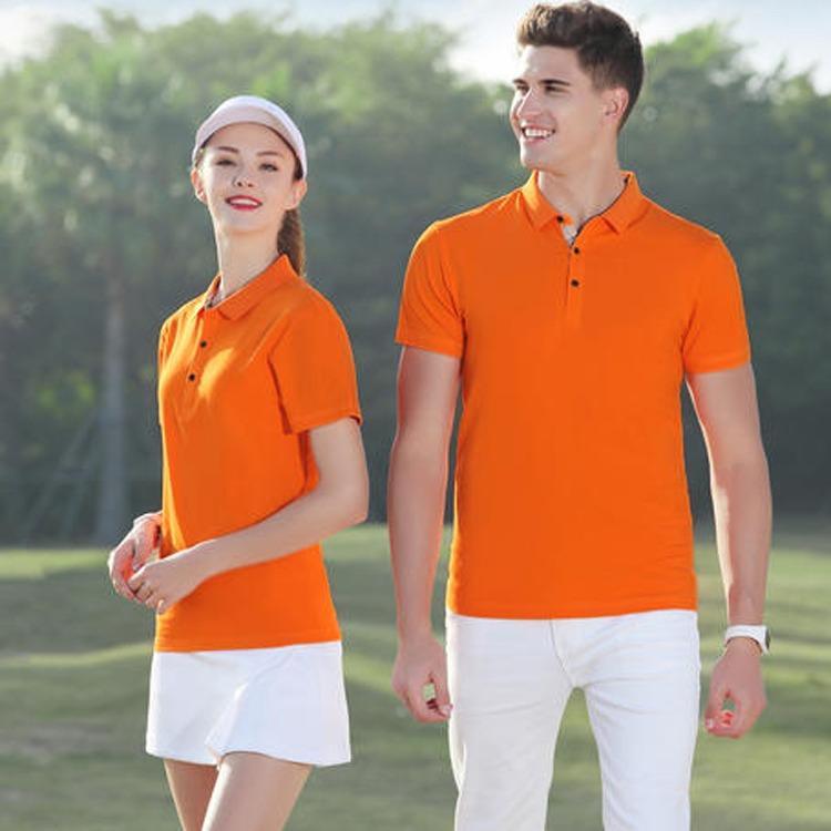 2020年欧美新款短袖POLO衫 深圳广告衫 北京文化衫厂家镁琳帮您印图