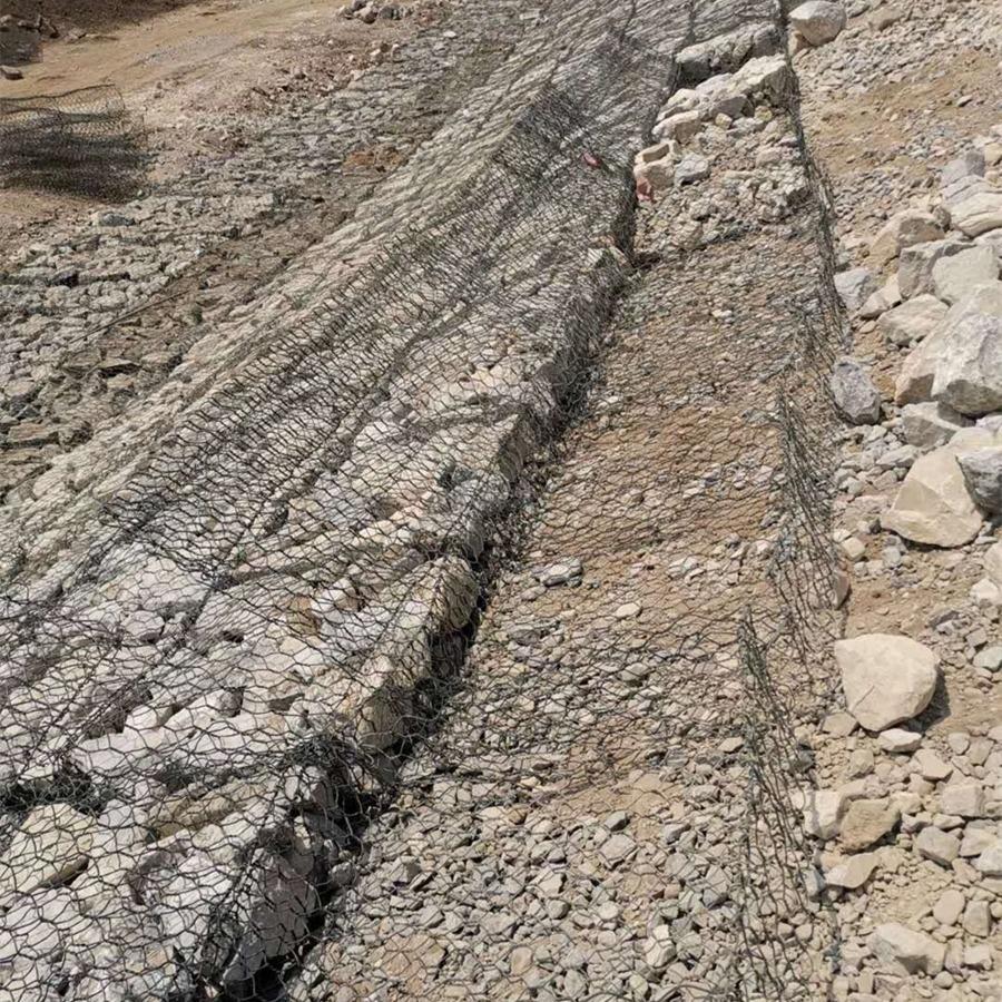 河道护坡雷诺护垫 涂塑雷诺护垫 铅丝镀锌雷诺护垫 [海栋]规格可定制