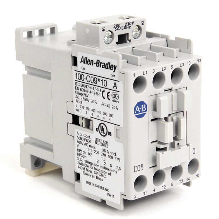 ab罗克韦尔接触器辅助触点ab接触器100-C12D01 100-C12D10