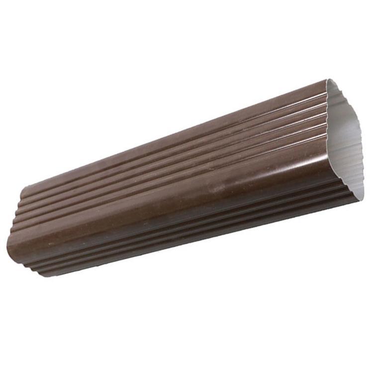 定制铝合金雨水管 外墙排水方形彩铝雨水管厂家