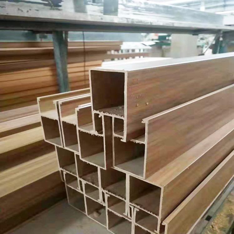 生态木墙裙 儒商 生态木方通现货 安装方便快捷