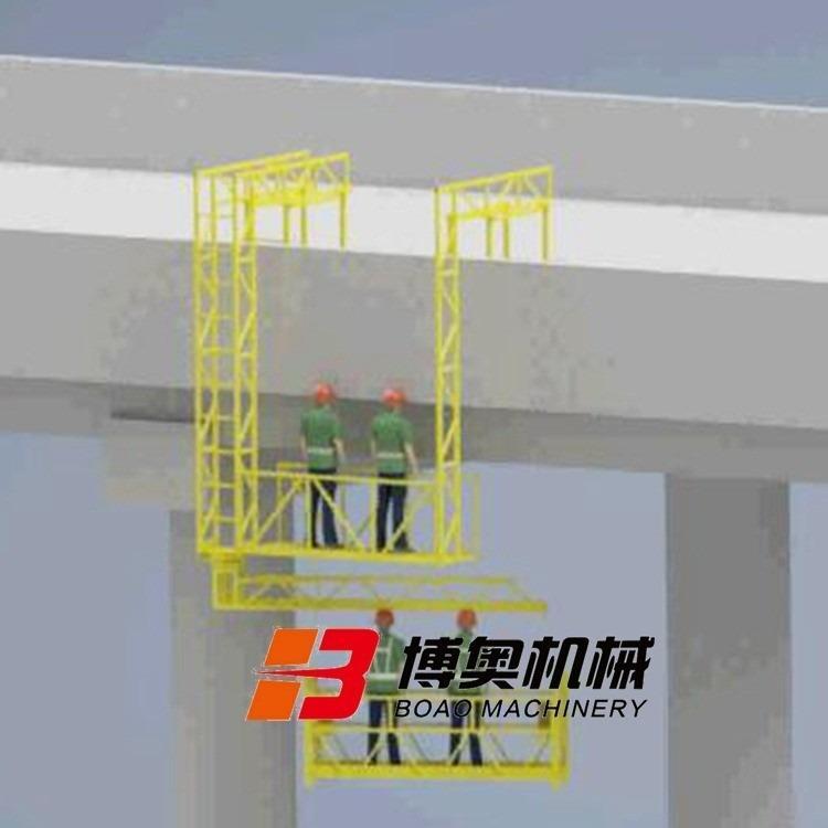 桥梁雨水管安装施工设备
