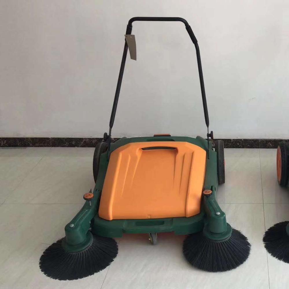 厂家现货扫地机 车间仓库手推式扫地车 无动力商用吸尘扫地车