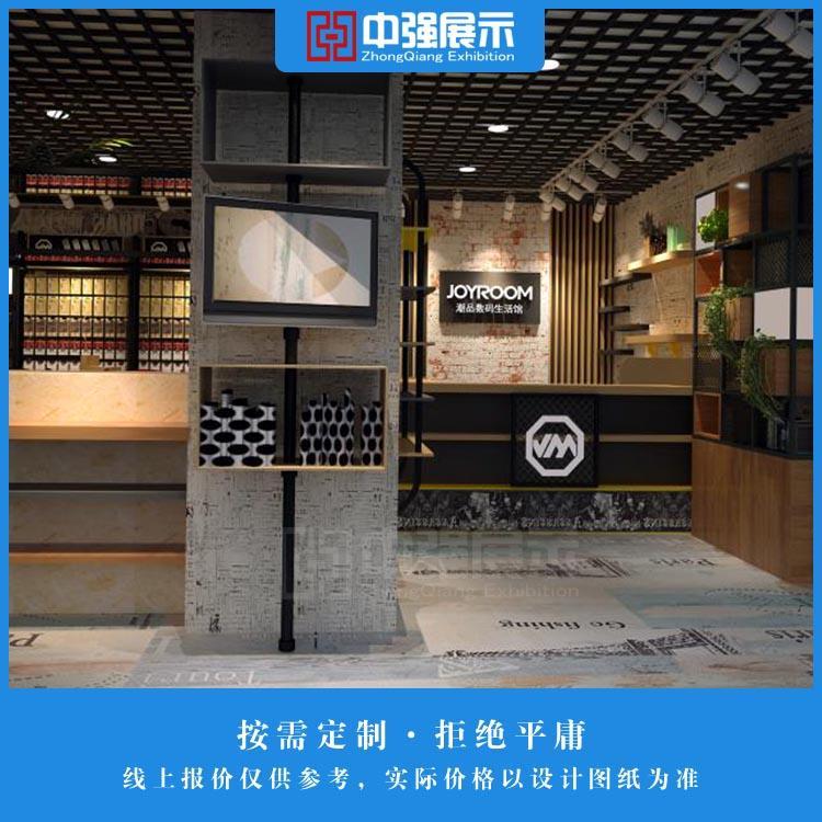南京数码产品展示柜定制 数码产品柜台定制厂家