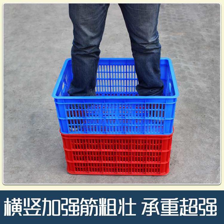 塑料食品周转箱厂 折叠箱周转箱 外形设计美观
