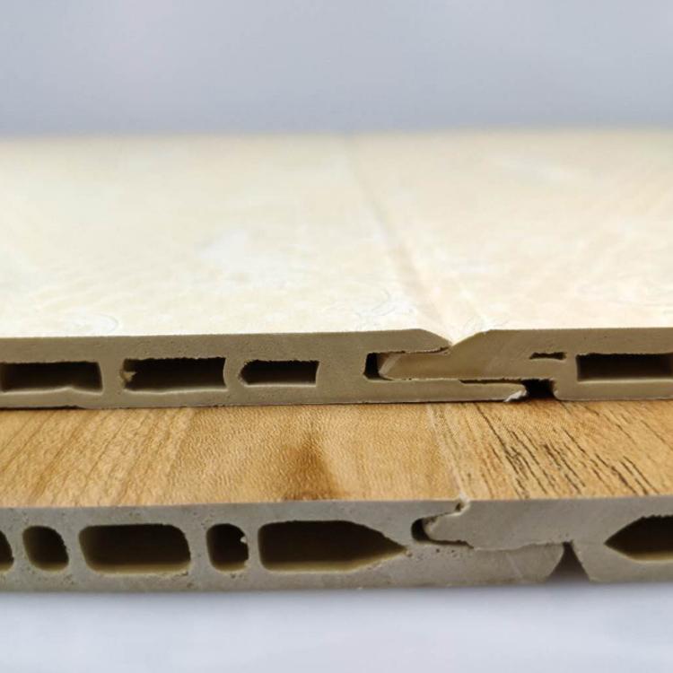 快装竹木纤维墙板 谷得竹木纤维集成墙板厂家