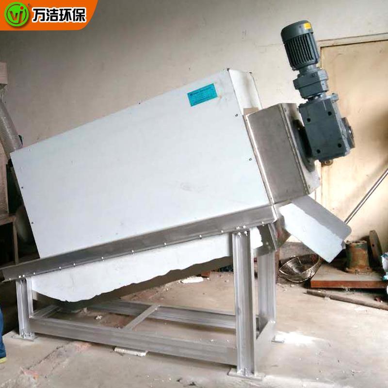 402型全自动叠螺式污泥脱水机 食品厂叠螺污泥浓缩脱水机