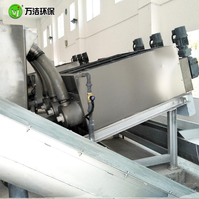 叠螺机厂家价格 353型食品厂全自动节能叠螺式污泥脱水机 周晓畅叠螺机脱水