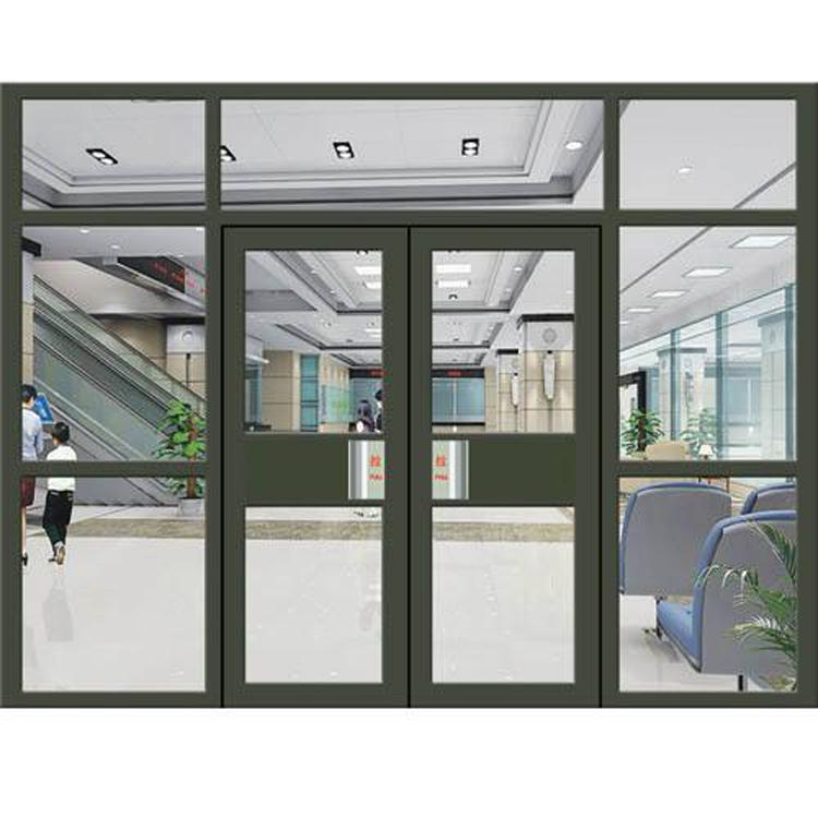 肯德基门厂家 嘉腾铝合金肯德基门 商务门酒店大门设计