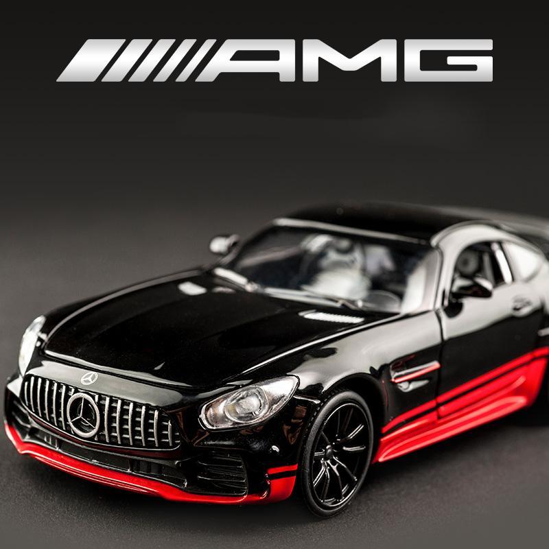 变形金刚奔驰AMG跑车GT建元合金车模儿童回力玩具小汽车汽车模型批发厂家直销