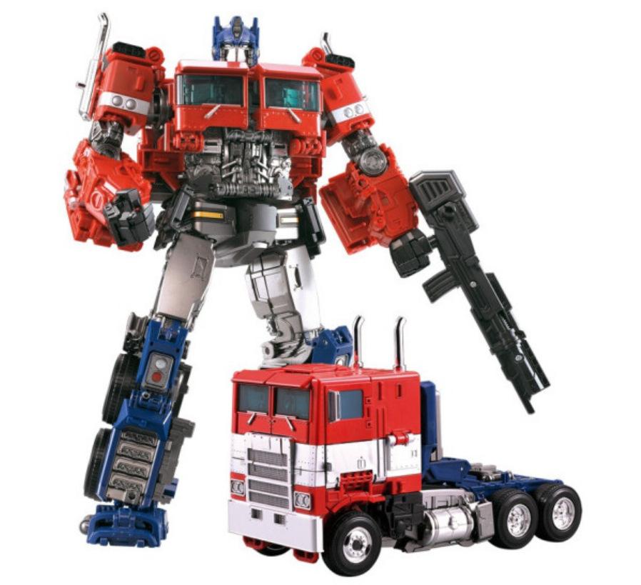黑曼巴变形玩具金刚擎天塞星柱合金版汽车机器人模型男孩儿童玩具