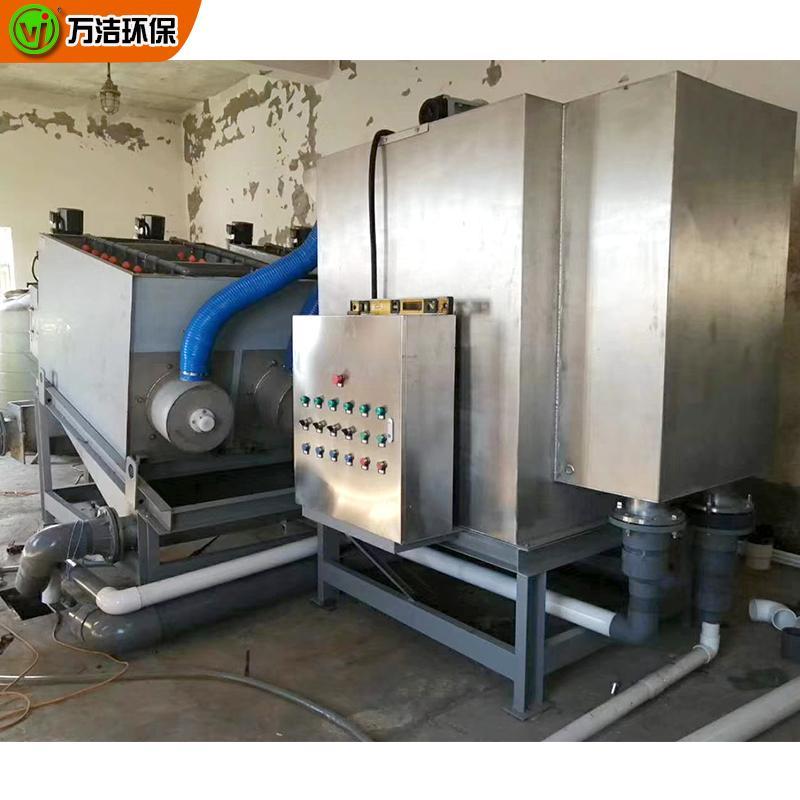 叠螺式污泥脱水机价格354型叠螺压滤机 印染叠螺污泥浓缩脱水一体机
