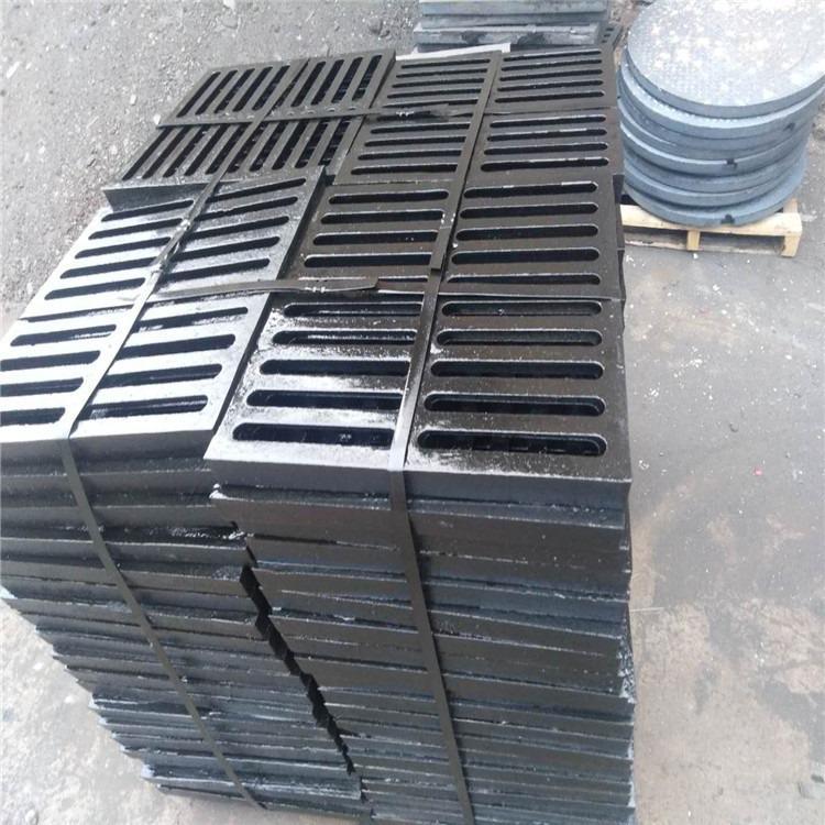 球墨铸铁篦子 400*500*30排水沟盖板 球墨铸铁沟盖板现货