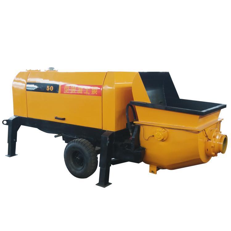 元享小型细石输送泵 操作简单 高效输送