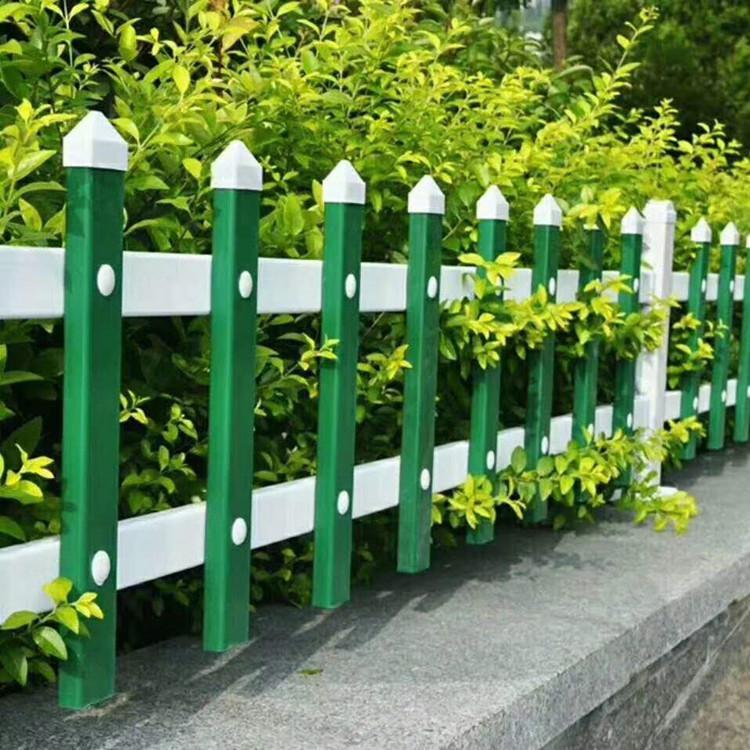 园艺草坪护栏A白色园艺草坪锌钢护栏A凯万定制