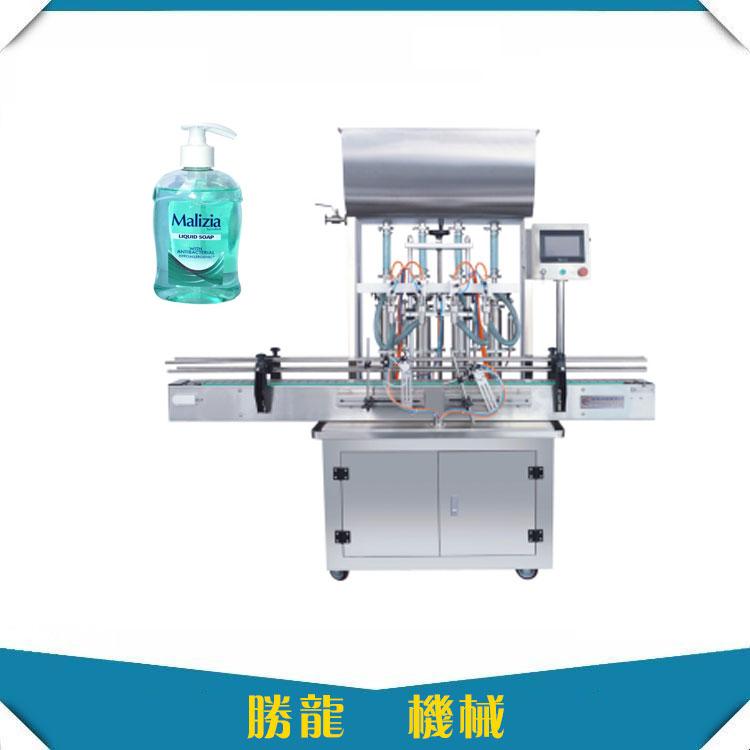 洗手液灌装机-全自动洗手液灌装机厂家直销-胜龙机械