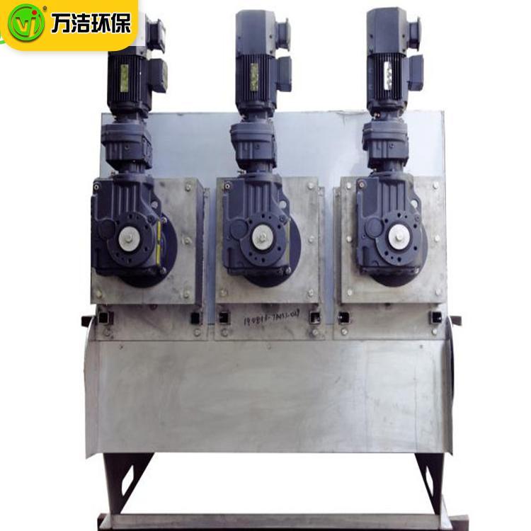 叠螺机生产设备厂家 周晓畅353型食品厂全自动节能叠螺式污泥脱水机