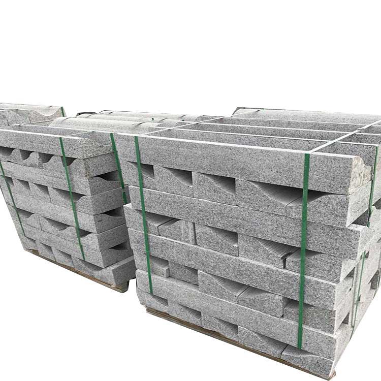 德润石材 路沿石图片及价格 路肩加工定制