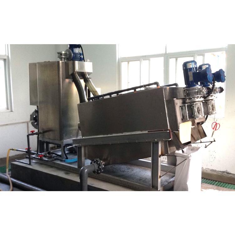 352型皮革厂全自动叠螺式污泥脱水压滤机 生产厂家叠螺机 污泥脱水机价格
