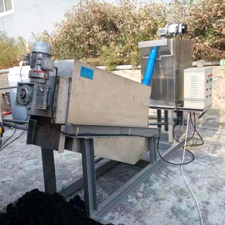 201型机械加工全自动叠螺式污泥脱水机